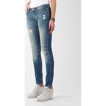Vêtements Femme Jeans skinny Wrangler Sandy Blues W23S4072G niebieski