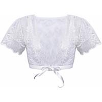 Sous-vêtements Femme Corsets et bustiers Pommpoire Boléro ivoire Je Le Veux Blanc