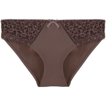 Sous-vêtements Femme Les Guides de Gov Pommpoire Culotte chocolat Elena Marron