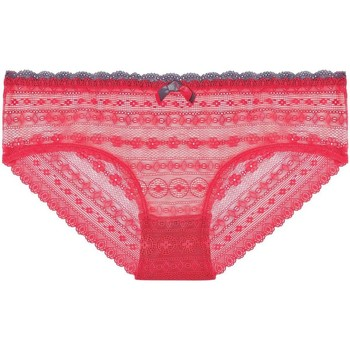Sous-vêtements Femme Shorties & boxers Pommpoire Shorty grenadine/gris I Feel Good rose
