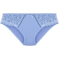 Sous-vêtements Femme Tangas Pommpoire Tanga bleu ciel Elena Bleu