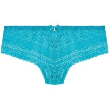 Sous-vêtements Femme Shorties & boxers Pommpoire Shorty string turquoise Marelle Bleu