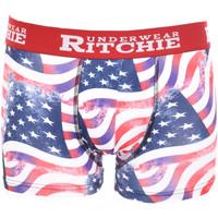 Sous-vêtements Homme Boxers Ritchie Boxer motifs REDMOND Rouge