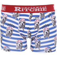 Sous-vêtements Homme Boxers Ritchie Boxer motifs ROUMATOL Bleu royal