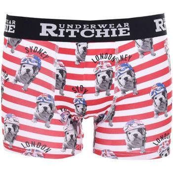 Sous-vêtements Homme Boxers Ritchie Boxer motifs ROUMATOL Rouge