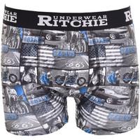 Sous-vêtements Homme Boxers Ritchie Boxer motifs RYANE Bleu