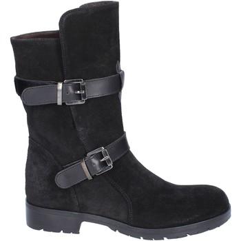 Chaussures Femme Bottes ville Triver Flight bottines daim noir