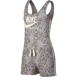 Vêtements Femme Combinaisons / Salopettes Nike Combishort Sportswear Gym Vintage gris