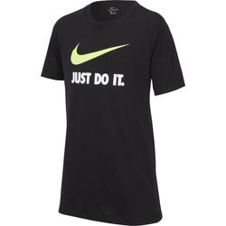 Vêtements Fille T-shirts manches courtes Nike T-shirt Sportswear noir