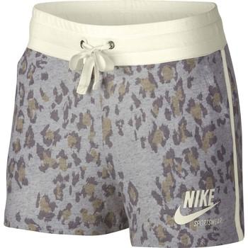Vêtements Femme Shorts / Bermudas Nike Short Sportswear Gym Vintage gris