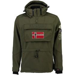 Vêtements Homme Vestes / Blazers Geographical Norway Softshell Homme Terreaux Kaki