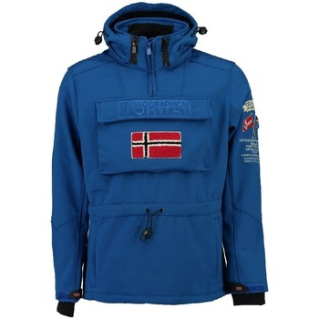 Vêtements Homme Vestes / Blazers Geographical Norway Softshell Homme Terreaux Bleu