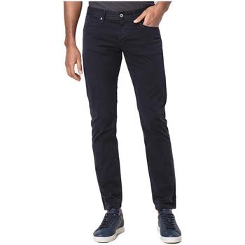 Pantalon Armani Pantalon en sergé Exchange bleu marine pour homme