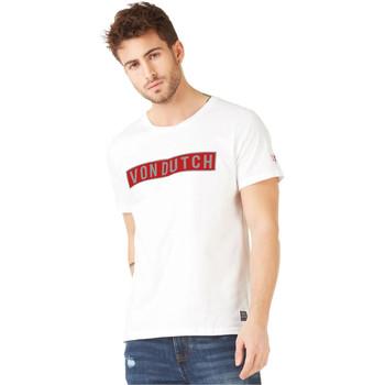 Vêtements Homme T-shirts manches courtes Von Dutch TSHIRT BELLS / B Blanc