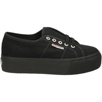 Chaussures Femme Baskets basses Superga 2790ACOTW LINEA UP AND DOWN 996-full-black