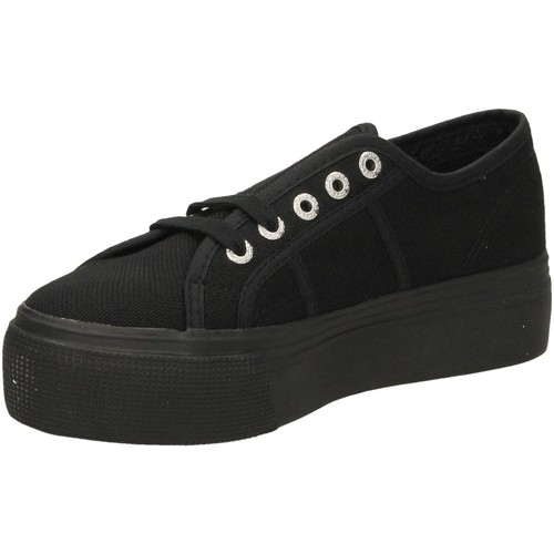 996 full Superga 2790acotw And Linea Femme black Down Basses Baskets Up Chaussures UpGMqzVS