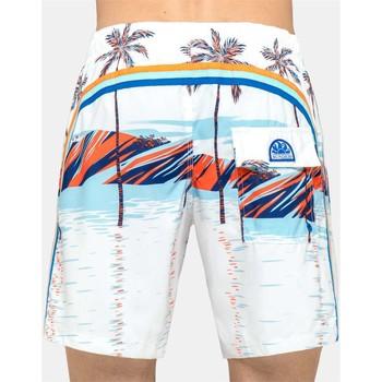 Vêtements Enfant Maillots / Shorts de bain Sundek B504BDP01PL 006 blanc
