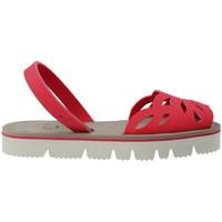 Chaussures Femme Sandales et Nu-pieds Mykai Avarcas MyKai Nur Sandalias Avarcas Casual de Mujer Rouge