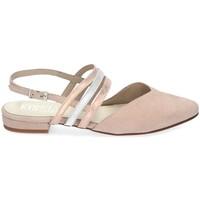 Chaussures Femme Sandales et Nu-pieds Kissia 329 Beige