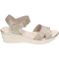 Chaussures Femme Sandales et Nu-pieds Kissia 313 Doré