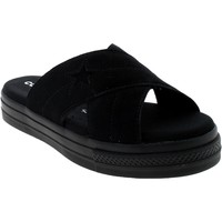 Chaussures Fille Mules Converse ONE STAR SANDAL SLIP NERE Noir