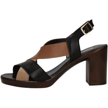 Chaussures Femme Sandales et Nu-pieds Romagnoli B9E7802 NOIR