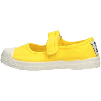 Chaussures Fille Tennis Natural World - Scarpa velcro giallo 476-504 GIALLO