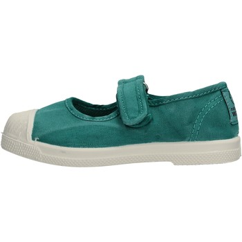 Chaussures Fille Tennis Natural World - Scarpa velcro menta 476E