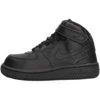 Chaussures Garçon Baskets montantes Nike - Force 1 mid nero 314197-004