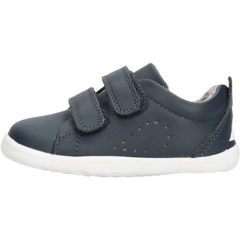 Chaussures Garçon Baskets basses Bobux - Step up grass blu 728915 BLU