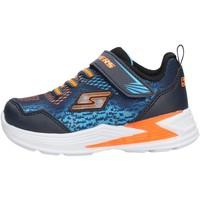 Chaussures Garçon Baskets basses Skechers - Derlo blu 90563N NVOR BLU