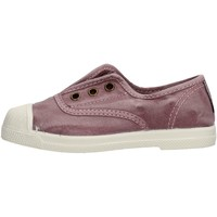 Chaussures Fille Baskets basses Natural World - Slip on da Bambino Glicine in  470E-633