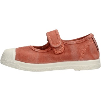 Chaussures Fille Tennis Natural World - Scarpa velcro arancione 476E-618