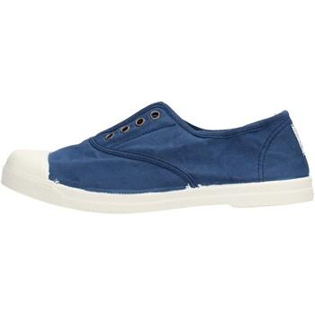 Chaussures Garçon Tennis Natural World - Scarpa lacci blu 102-548 BLU