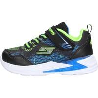 Chaussures Garçon Baskets basses Skechers - Derlo nero/blu 90563N BBLM NERO
