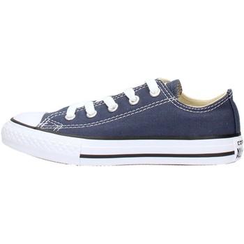 Chaussures Garçon Baskets basses Converse - Ct as ox blu 3J237C BLU