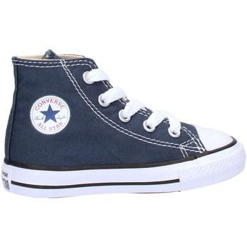 Chaussures Garçon Baskets montantes Converse - Ct as hi blu 7J233C BLU