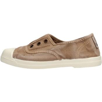 Chaussures Garçon Baskets basses Natural World - Scarpa elast beige 470E-621 BEIGE