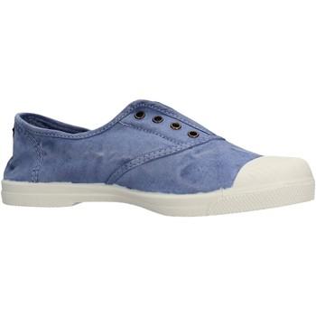 Chaussures Garçon Tennis Natural World - Sneaker celeste 102E-690 CELESTE