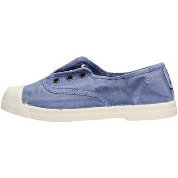 Chaussures Garçon Baskets basses Natural World - Scarpa elast celeste 470E-690 BLU