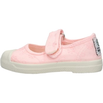 Chaussures Fille Tennis Natural World - Sneaker da Bambino Rosa in Tela 478-541