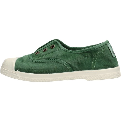 Chaussures Garçon Tennis Natural World - Scarpa elast verde 470E-639 VERDE