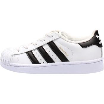 Chaussures Garçon Baskets basses adidas Originals - Superstar c bianco BA8378 BIANCO