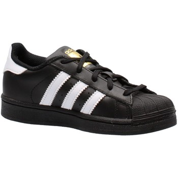 Chaussures Garçon Baskets basses adidas Originals - Superstar c nero BA8379 NERO