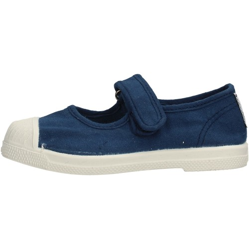 Chaussures Fille Tennis Natural World - Scarpa velcro azul 476-548 BLU
