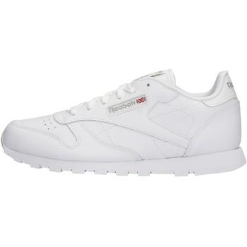Chaussures enfant Reebok Sport - Sneaker da Bambino Bianco in Pelle 50151