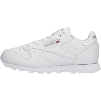 Chaussures Garçon Baskets basses Reebok Sport - Classic leather bianco 50172 BIANCO