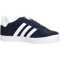 Chaussures Garçon Baskets basses adidas Originals - Gazelle c blu BY9162 BLU
