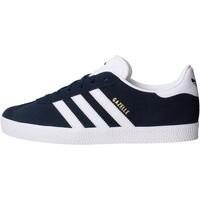 Chaussures Garçon Baskets basses adidas Originals - Gazelle j blu BY9144