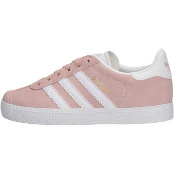 Chaussures Fille Baskets basses adidas Originals - Gazelle c rosa BY9548 ROSA